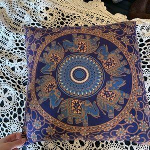 hippie style cushion